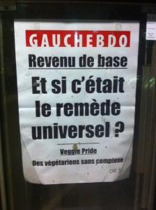 manchette journal gauchehebdo initiative revenu e base inconditionnel